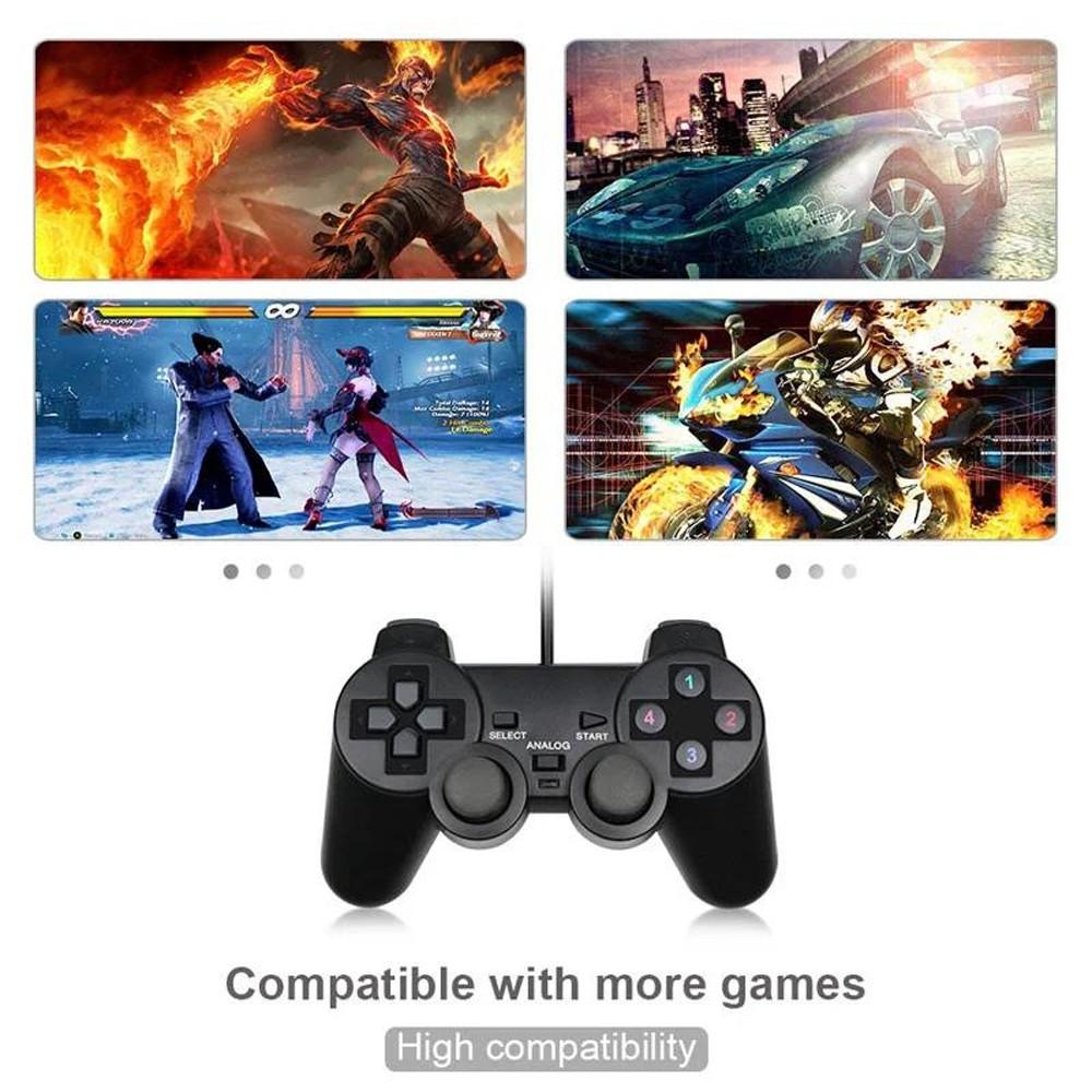 Ucom PC Joystick Handle Gamepad Vibration USB Game Controller