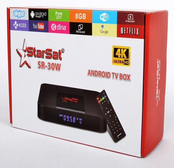 StarSat SR 30 First Android box,30w
