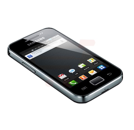 Samsung Galaxy Ace S5830 3G Smartphone, 3.5 Inch Display, Android 2.2 OS, 278MB RAM, 158MB Storage, Single SIM, Camera - Black