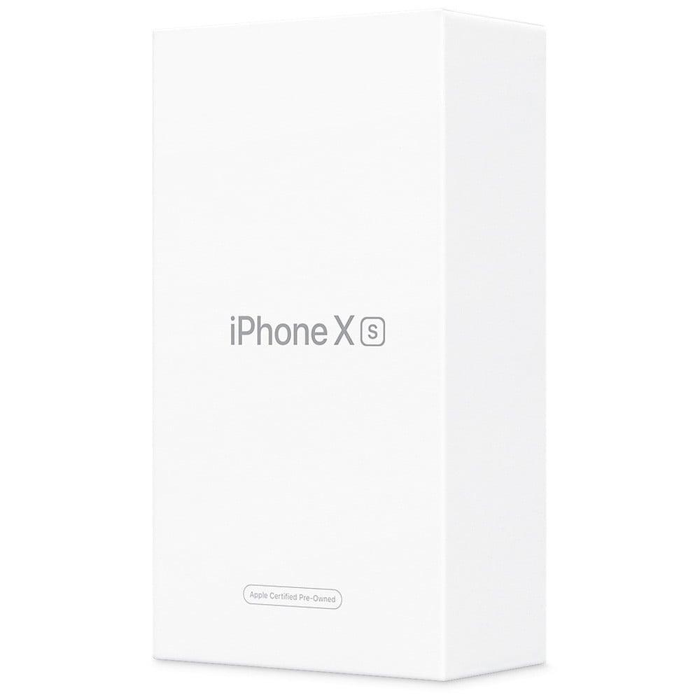 Apple iPhone XS, 4GB RAM 64GB Storage, 4G LTE, Black- Refurbished