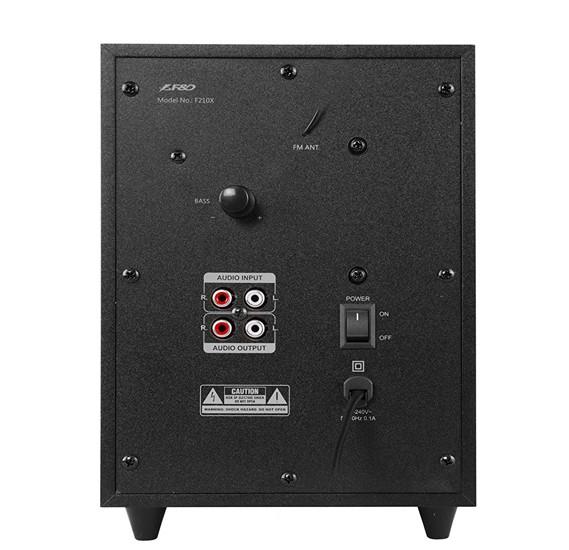 F&D 2.1 Multimedia Speaker with Bluetooth (F-210X)