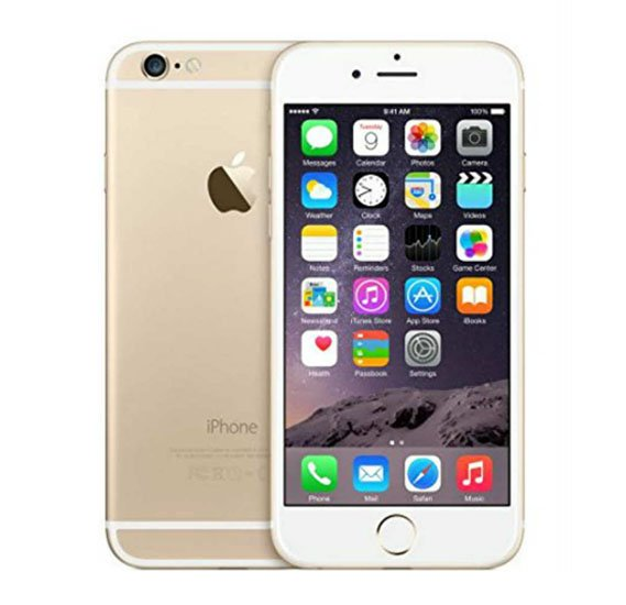Apple iphone 6 Smartphone, iOS 8, 4.7-inch IPS LCD Display,1GB RAM, 64GB Storage, Dual Camera, Wifi, Bluetooth (Activated) - Gold