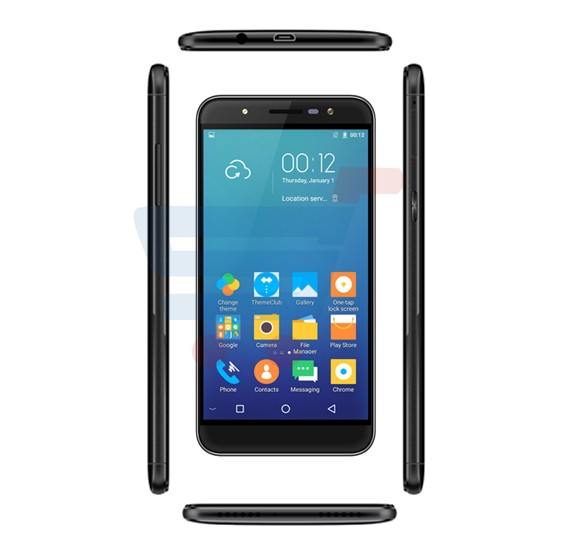 Blumix G9 Plus Smartphone,Fingerprint,4G LTE,Android 6.1 OS,5.0 inch HD Display,3GB RAM,16GB Storage,Dual SIM,Dual Camera,Quad Core Processor,Bluetooth,WiFi,FM Radio-Black