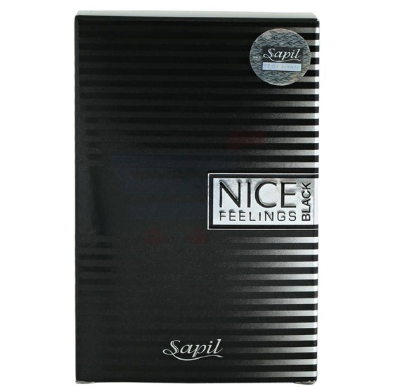 Swiss Arabia Sapil Nice Feelings Black for Men Edt - 100 ml