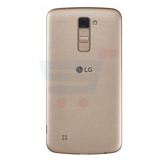 LG K10 (2017) 4G Smartphone, Android 7.0 OS, 5.3 Inch Display, 2GB RAM, 16GB Storage, WiFI, BT, FM, Octa Core Processor - Gold