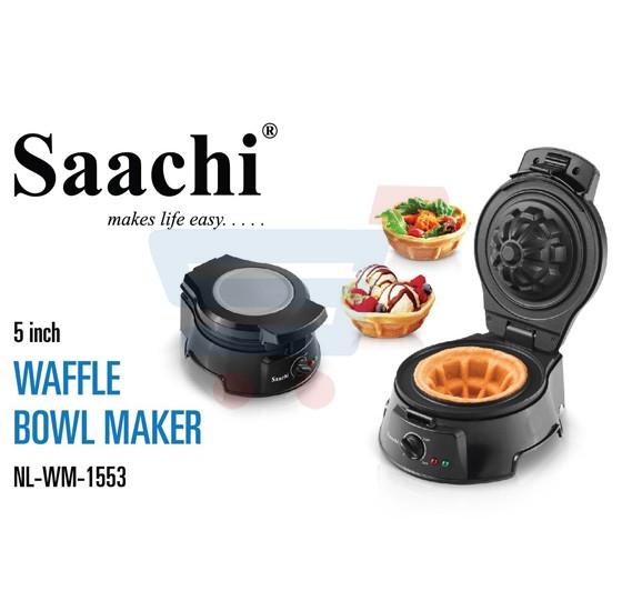 Saachi Waffle Bowl Maker Big Size ‐ WM‐1553