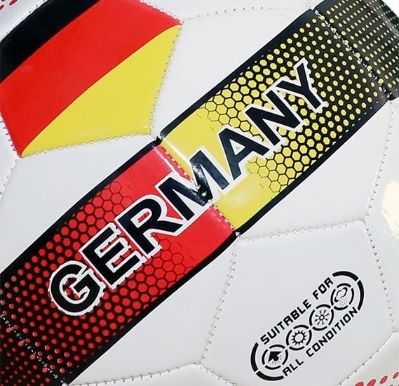 Joerex German Flag Soccer Ball 5
