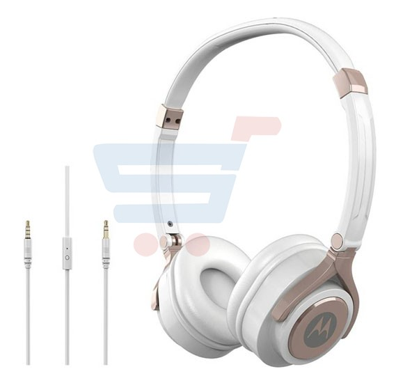 Motorola Pulse 2 Wired Headset White