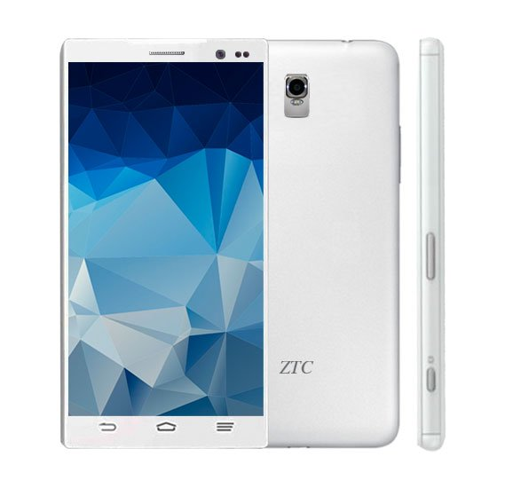 ZTC Xperia Z6 Smartphone, 3G, Android 4.4.2, 5 inch FWVGA Display, 512MB RAM, 4GB Storage, Dual Camera (WHITE)