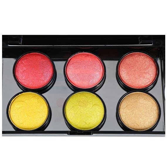 Ferrarucci 6 Color Eye Shadow 54g, 02