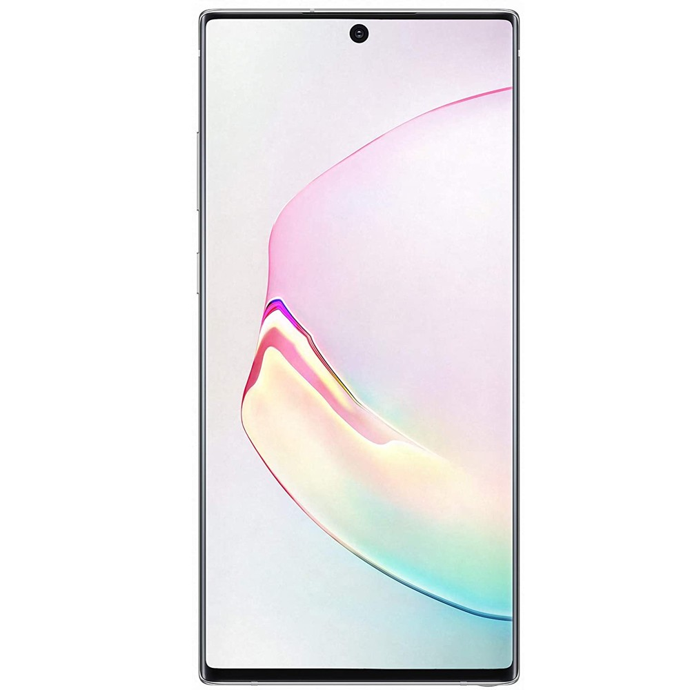 Samsung Galaxy Note 10plus Dual Sim 12GB RAM, 256GB Storage, Aura White- 5G