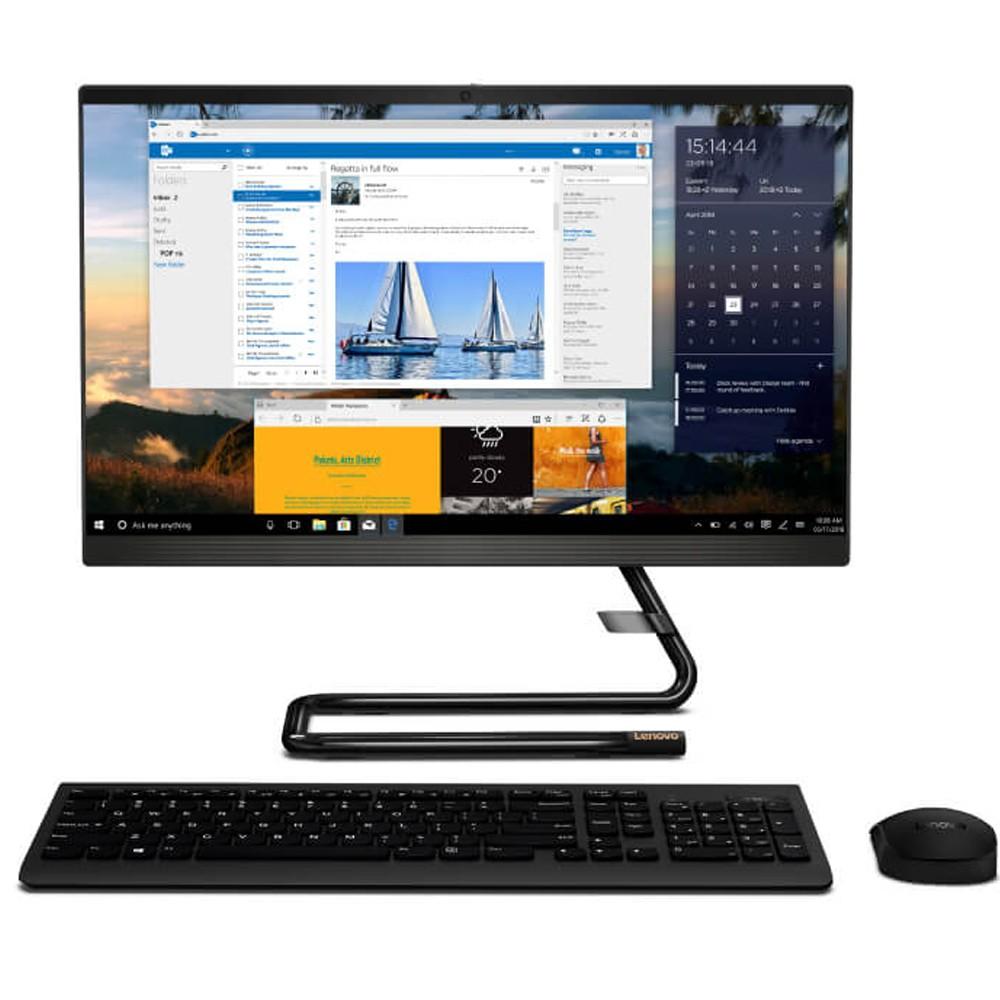 Lenovo IdeaCentre AIO 3, 27 inch Display Core i7 Processor 16GB RAM 512GB SSD Storage 2GB Graphics Win10, Black