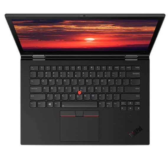 Lenovo X1 Yoga Notebook, 14 inch WQHD Display, Intel I7 85650U Processor, 16GB RAM, 1TB SSD, Windows 10 Pro, Black
