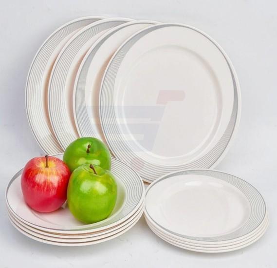 Epsilon 12 Pieces Dinner set  EN4248
