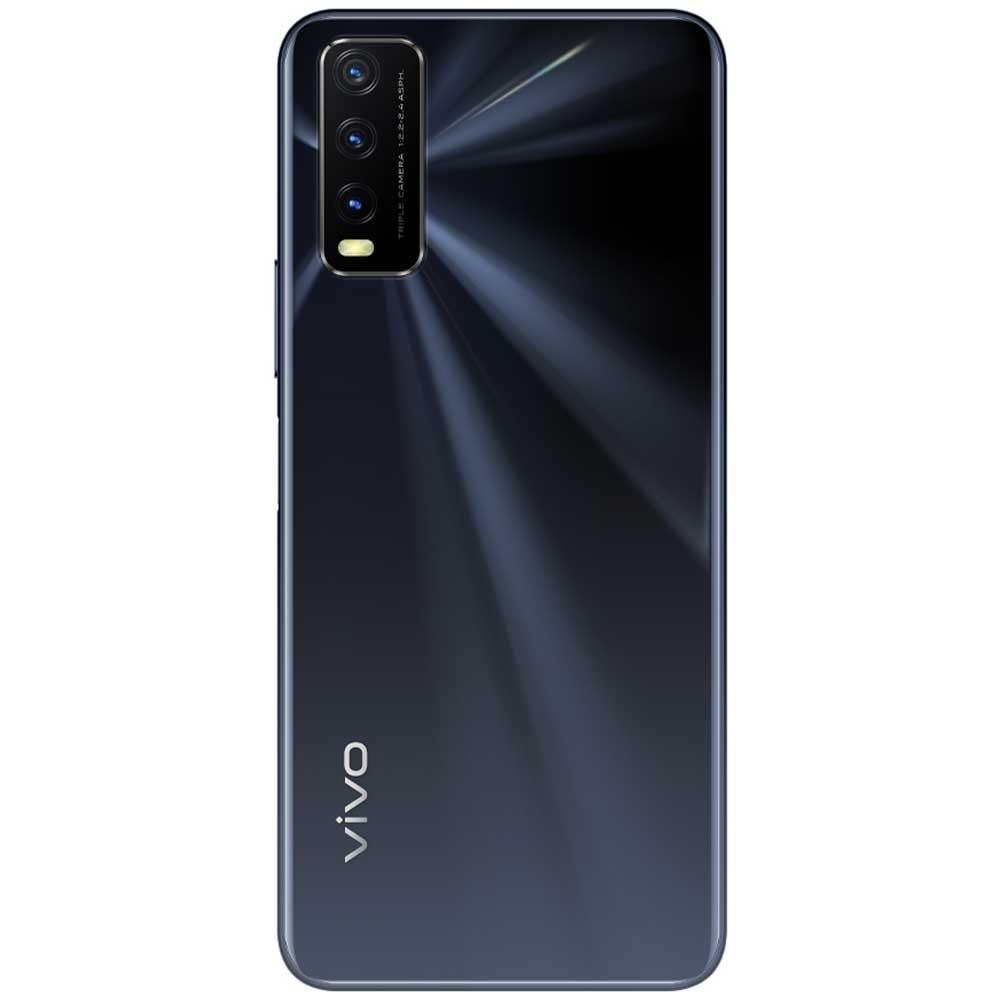 Vivo Y20s Dual SIM, 8GB RAM 128GB Storage, 4G LTE, Obsidian Black
