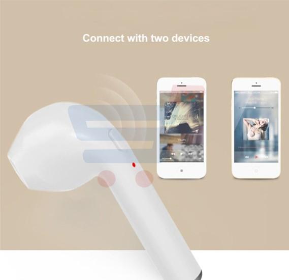 Wireless Bluetooth Stealth Earphone ZN7513, HBQ i7 Mini Fashion Bluetooth v4.1 EDR Earbuds Headset