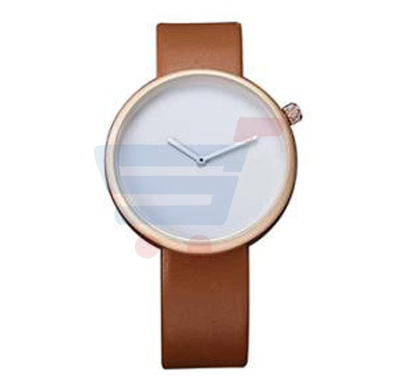 Tomi Analog Quartz Unisex Watches TO78, Brown White