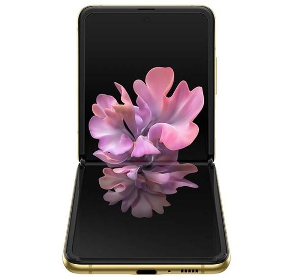 Samsung Galaxy Z Flip 8GB RAM 256GB 4G LTE -Gold Mirror
