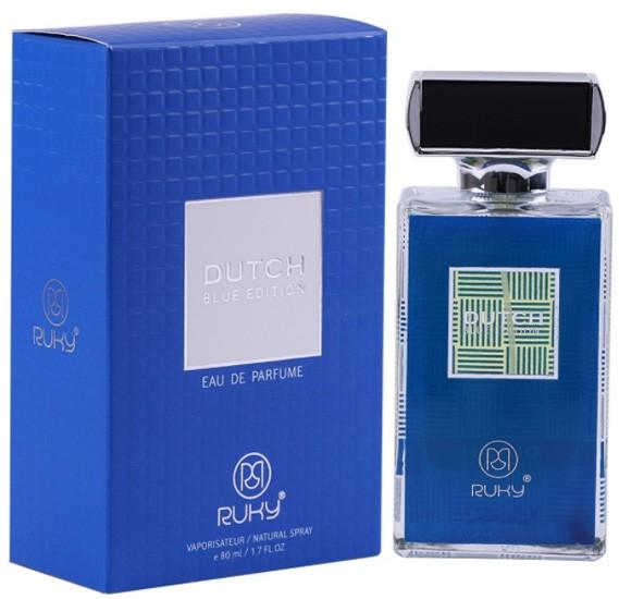 2 in 1 Bundle Pack Ruky Oud Muqadhas Eau De Parfum 30ml and Ruky Dutch Blue Edition Perfume 80 ml
