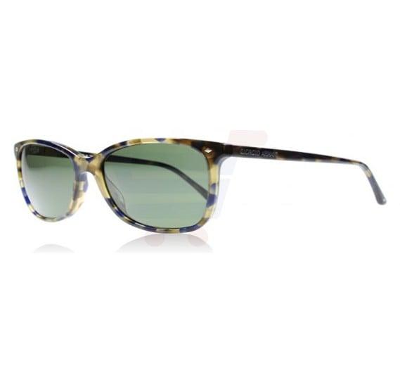 Giorgio Armani Wayfarer Tortoise Frame & Green Mirrored Frames For Unisex - 0AR8059-541131