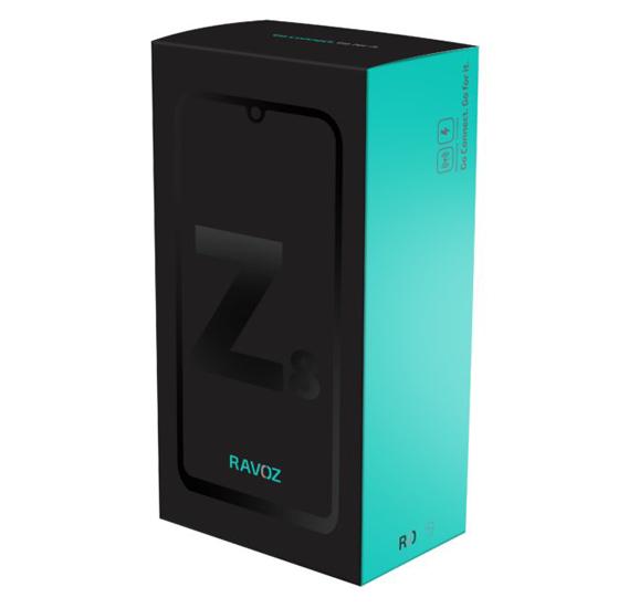 Ravoz Z8 Dual Sim 8GB RAM 128GB 4G LTE-Black