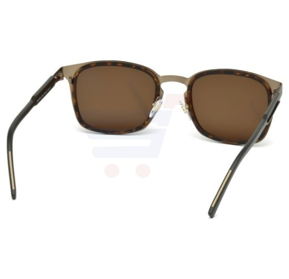 Mont Blanc Wayfarer Brown Frame & Brown Mirrored Sunglasses For Men - MB591S-52E