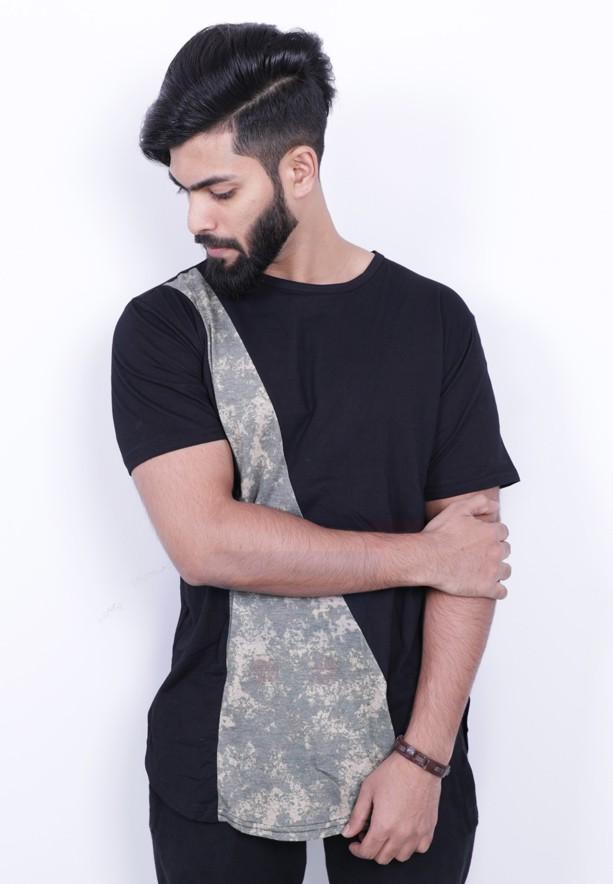 Nansa Mens Tshirt Black - NAABF15514X - M