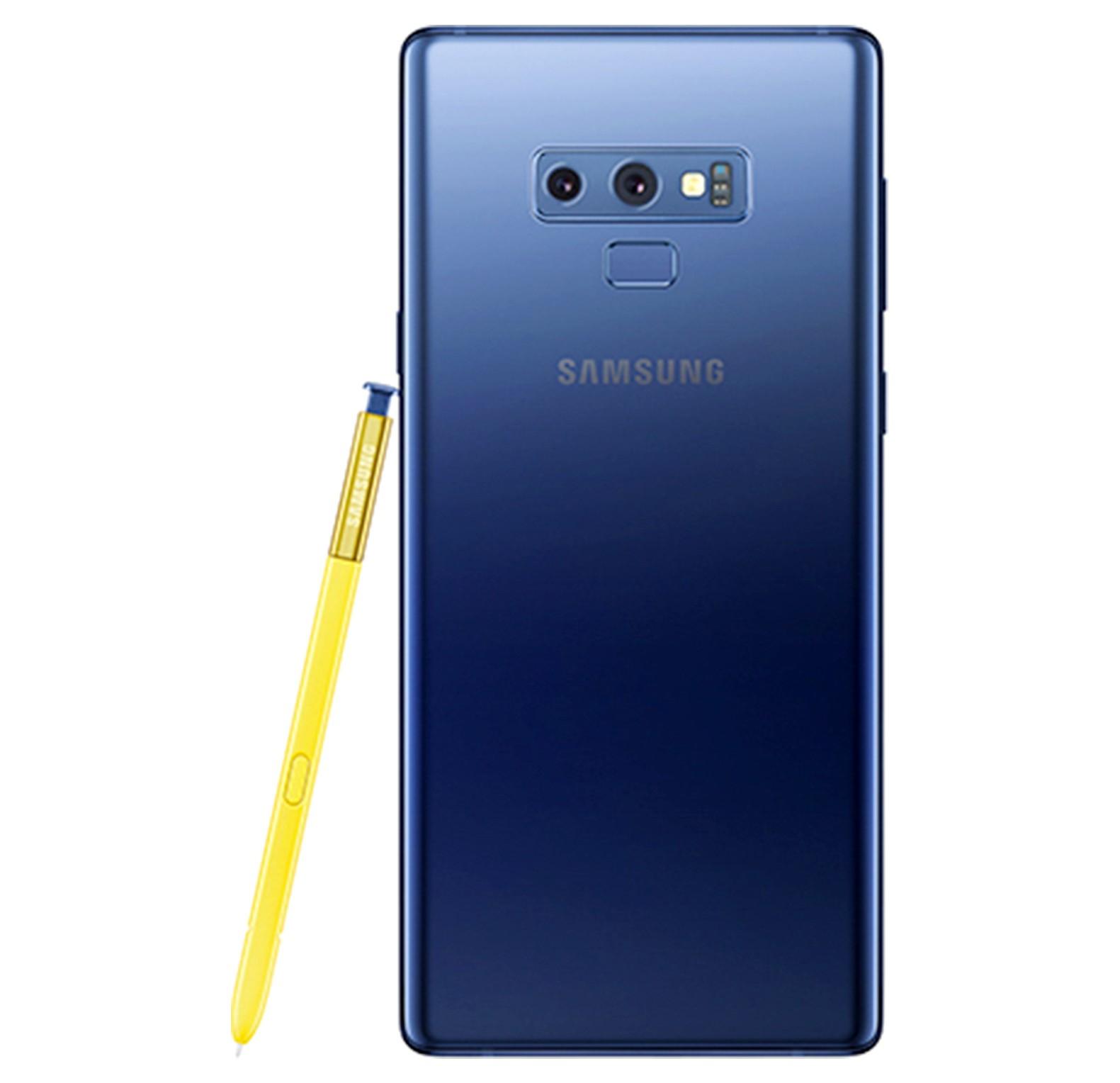 Samsung Galaxy Note 9, Dual SIM, 512GB, 8GB RAM, 4G LTE, Lavender Blue.