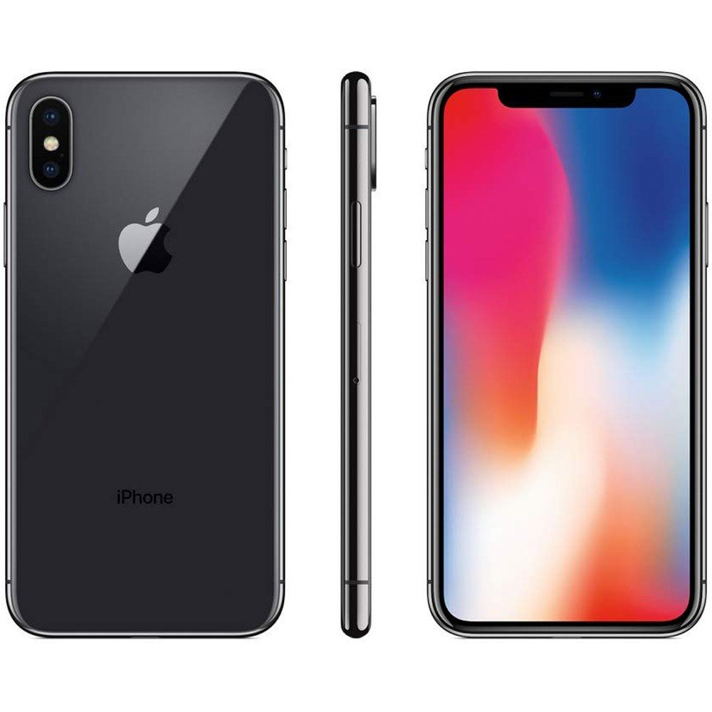 Apple iPhone X, 3GB RAM 256GB Storage, 4G LTE, Spacy Grey, Activated
