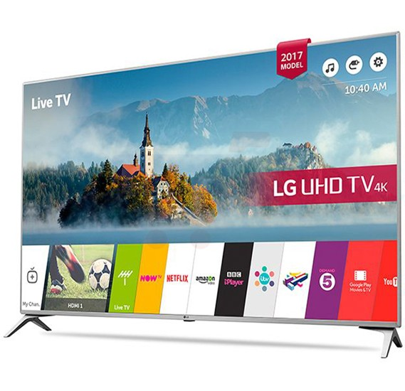 LG 49 Inch 4K Ultra HD Smart TV 49UJ651V