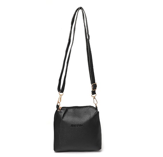 Jingpin Korean Style Fashionable 4 In 1 Tassel Tote Bag for Ladies, Black