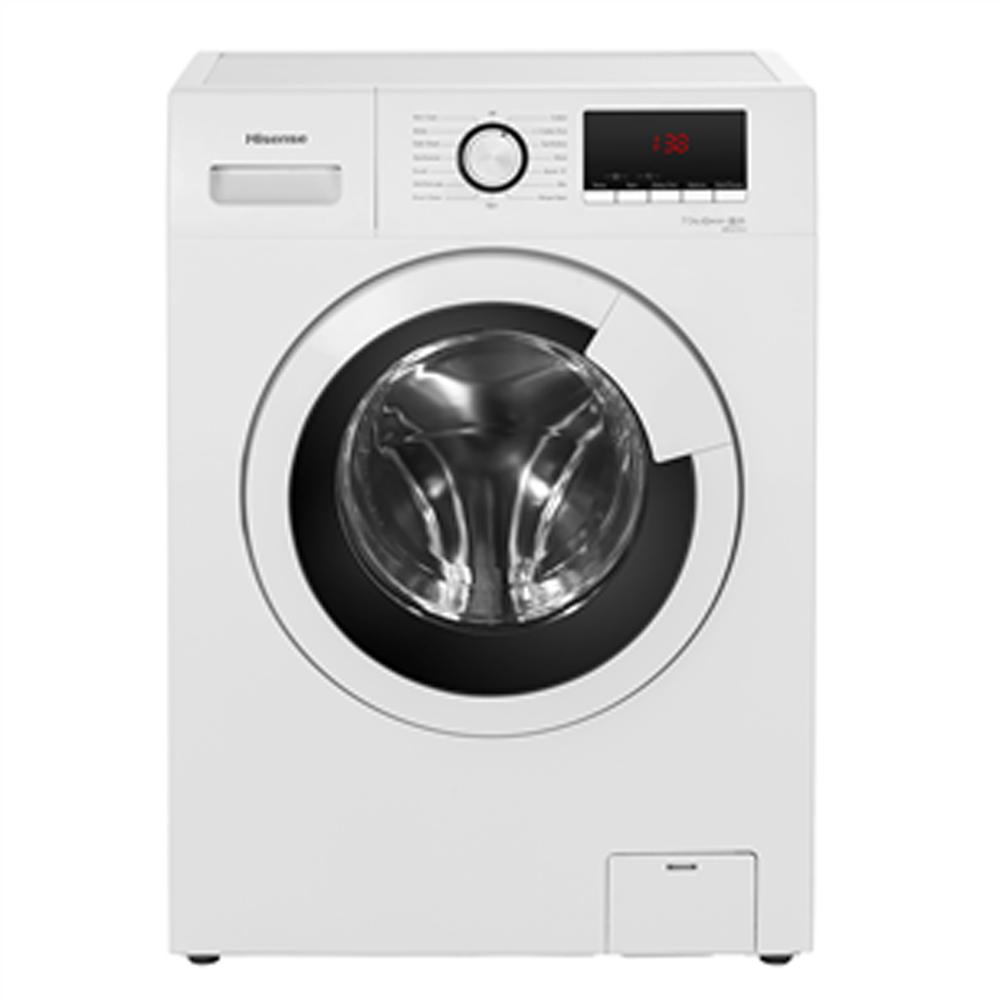 Hisense 8 Kg 1400 RPM Front Load Washing Machine, White - WFKV8014