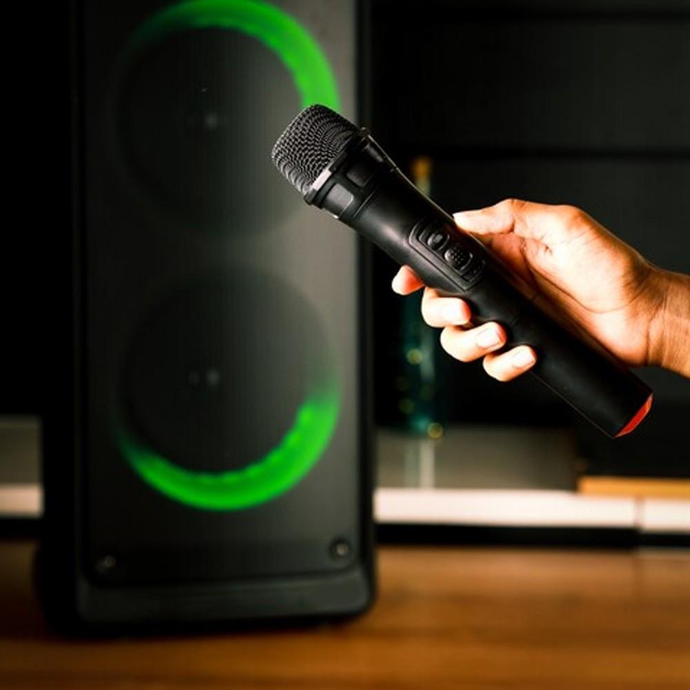 Olsenmark OMMS1280 Rechargeable Party Speaker Black