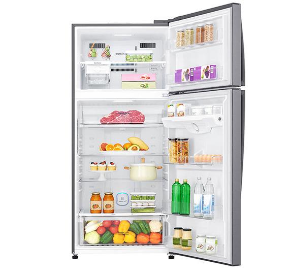 LG 402 LTR Top Freezer Refrigerator GN B402SQCB