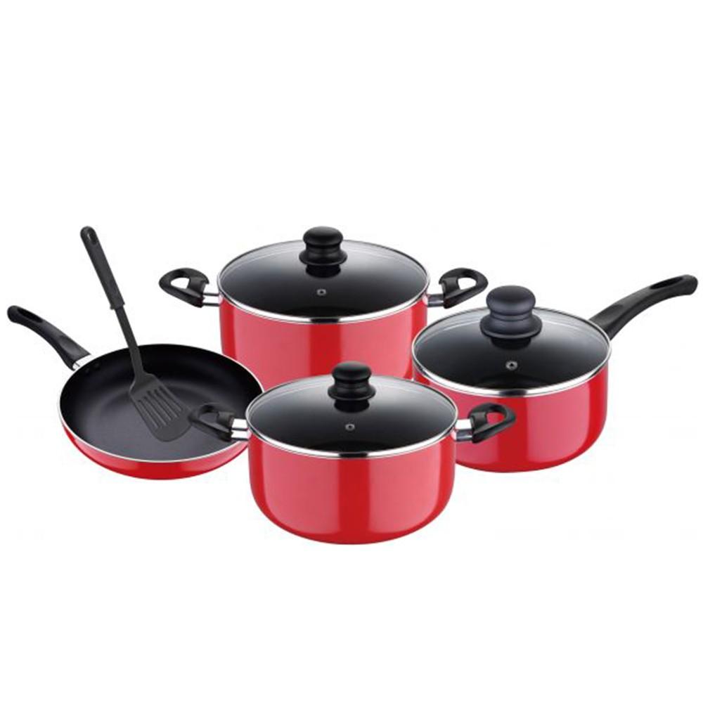 Homeway Non Stick Cookware Set 8Pcs HW3455