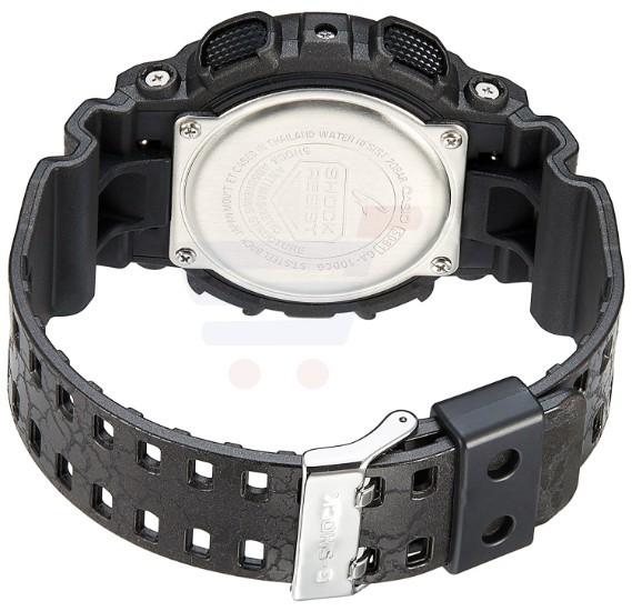Casio G-Shock GA-100CG-1ADR Analog-Digital Black Dial Men Watch