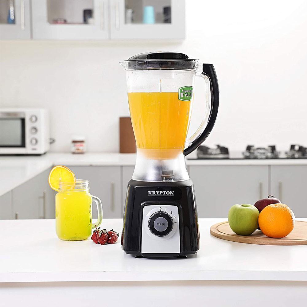 Krypton 2In1 Blender With Unbreakable Jar 1.5L KNB6074