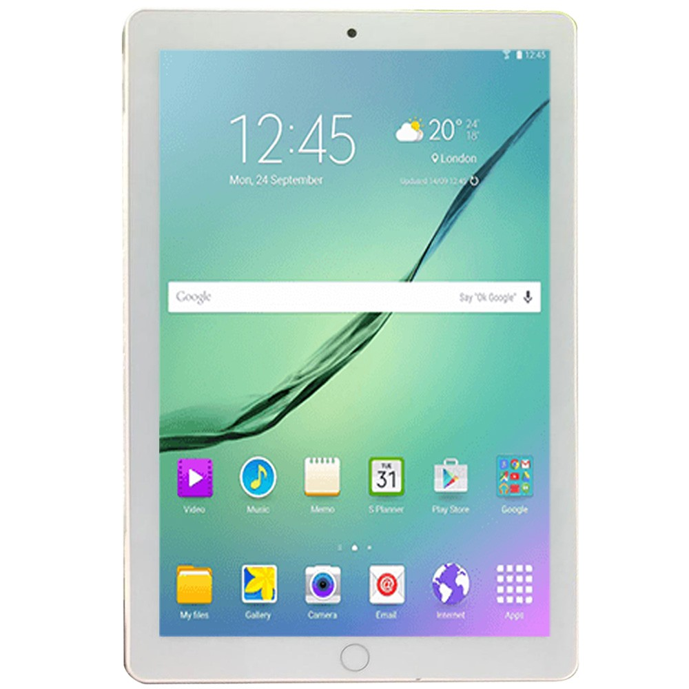 Luxury Touch S108 10.1inch Tablet Dual SIM, 4GB RAM 16GB Storage, 4G, Assorted Color