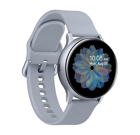Samsung Galaxy Watch Active 2, 40mm Aluminium - Cloud Silver, SM-R830