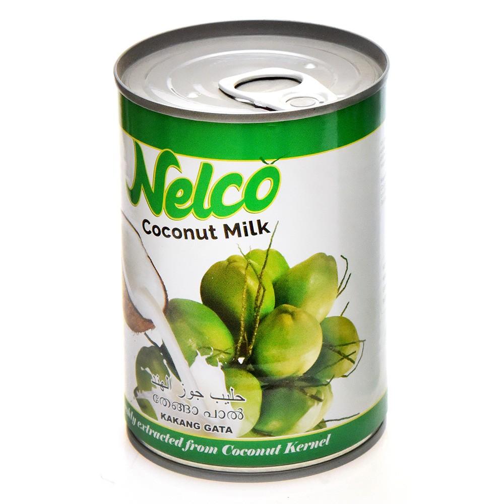 Nellara Nelco Coconut Milk (Liquid) 400 Ml Can