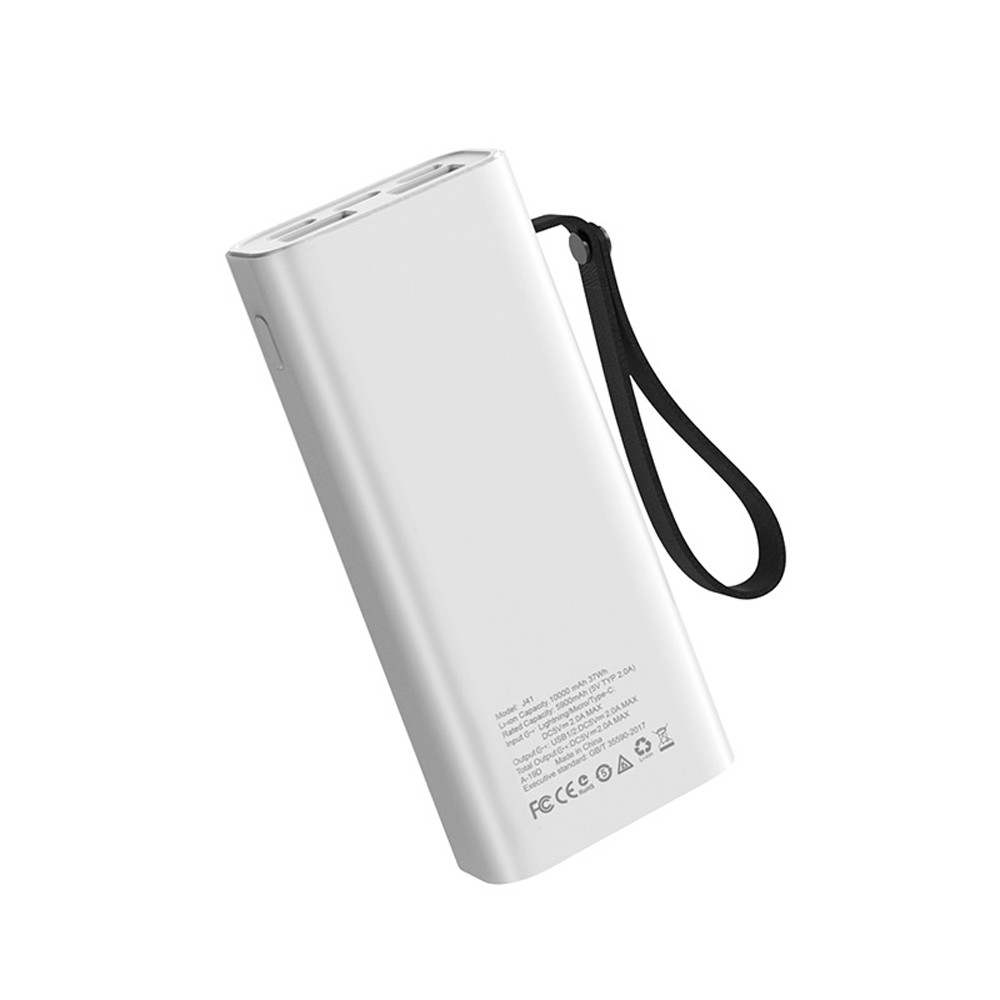 Hoco Treasure Mobile Power Bank 10000mAh White, J41