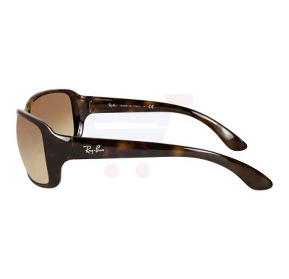 59a12bceb6 ... Ray-Ban Rectangular Tortoise Frame   Light Brown Gradient Mirrored  Sunglasses For Women - RB4068