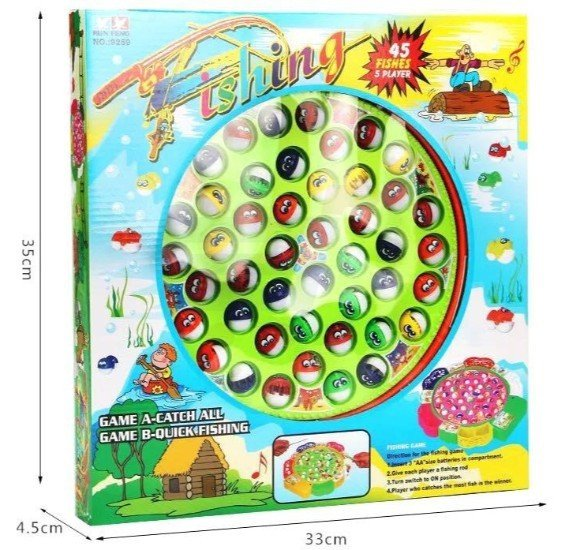 Fishing Game Electric Plastic Fish Toys