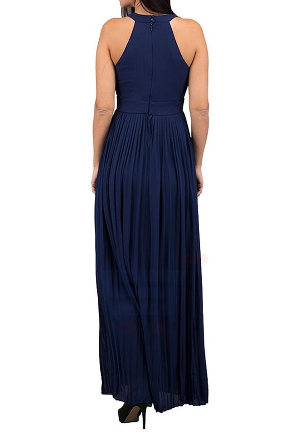 TFNC London Prague Mxi Evening Dress Navy - CTT 5683 - XL