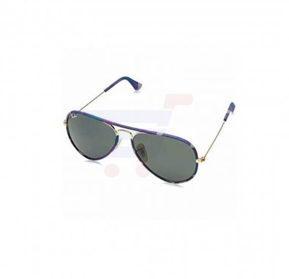 Ray-Ban Aviator Gold Frame & Green Mirrored Sunglasses For Unisex - RB3025-JM-172