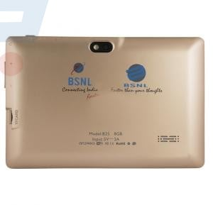BSNL B25 Tablet, 8GB, Android OS, 7.0 Inch LCD Display, Quad Core Processor - Gold