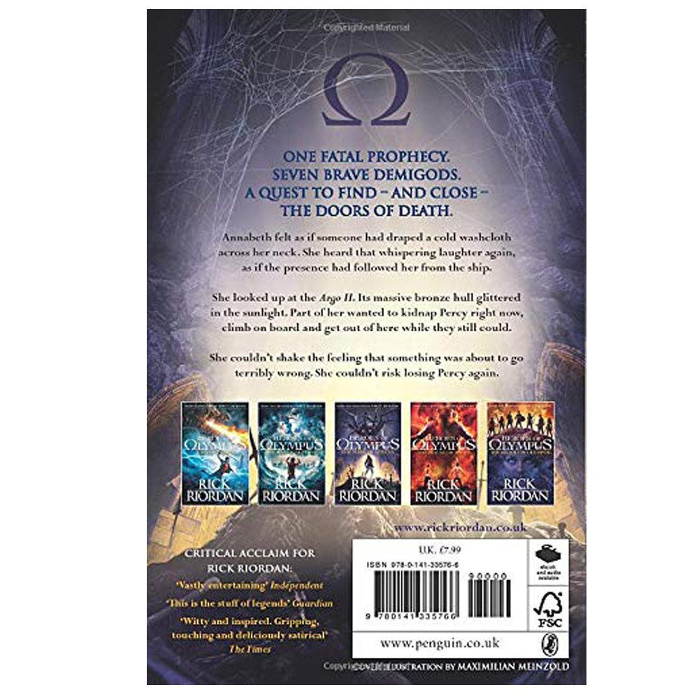 Heroes of Olympus-The Mark of Athena
