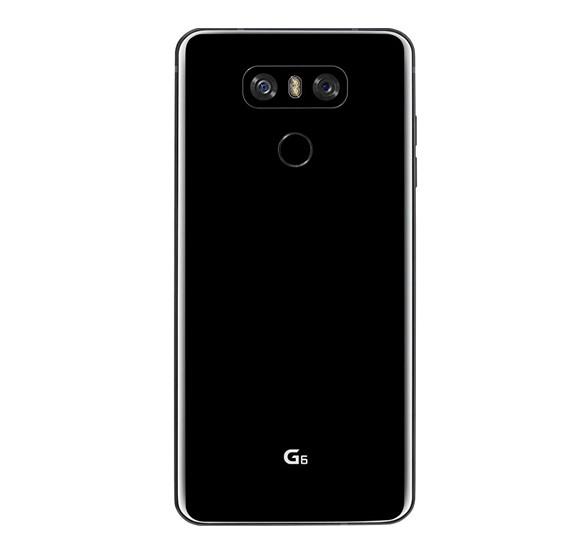 LG G6 Smartphone, 32GB, 4G LTE, Black – Refurbished