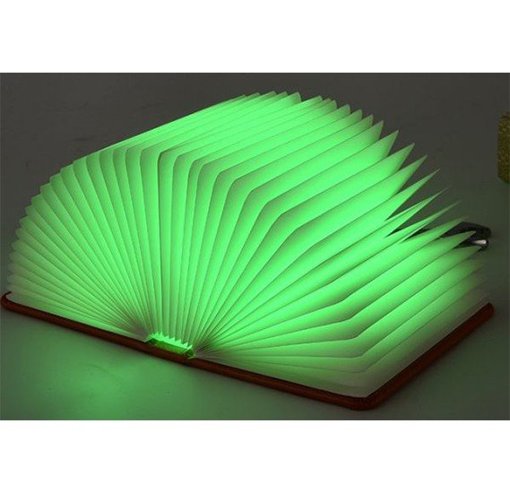 5 Colors USB chargeable folding LED Book Light Lamp for home Decor, JPT002