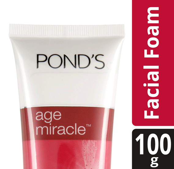 Ponds Age Miracle Cell Regen Facial Foam 100gm